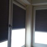 Raamdecoratie Day & Night Zonder schroeven of boren op kunststof ramen geplaatst   Halve positie